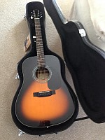 Zager EZ-Play ZAD20E Acoustic Electric Vintage Sunburst