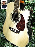 Zager EZ-Play ZAD900CE Professional Acoustic Electric